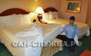 обработка от клопов в хостеле, обработка от постельных клопов в гостинице, уничтожить клопов в хостеле, вызвать специалиста по уничтожению постельных клопов