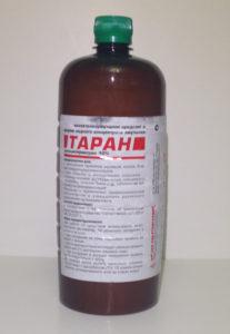 Средство Таран 1 литр от клещей купить для обработки участка